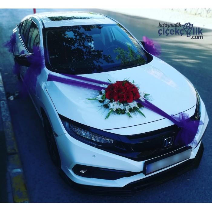 Gelin Arabası Süsleme - Honda