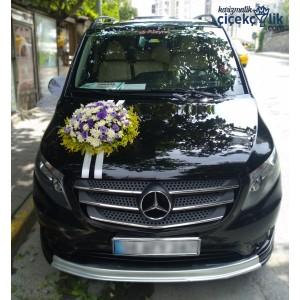 Gelin Arabası Süsleme - Mercedes Benz Vito