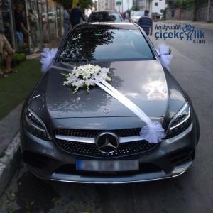 Gelin Arabası Süsleme – Mercedes Benz C200d