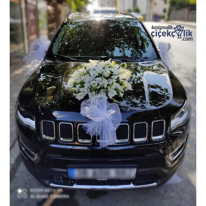 Gelin Arabası Süsleme - Jeep