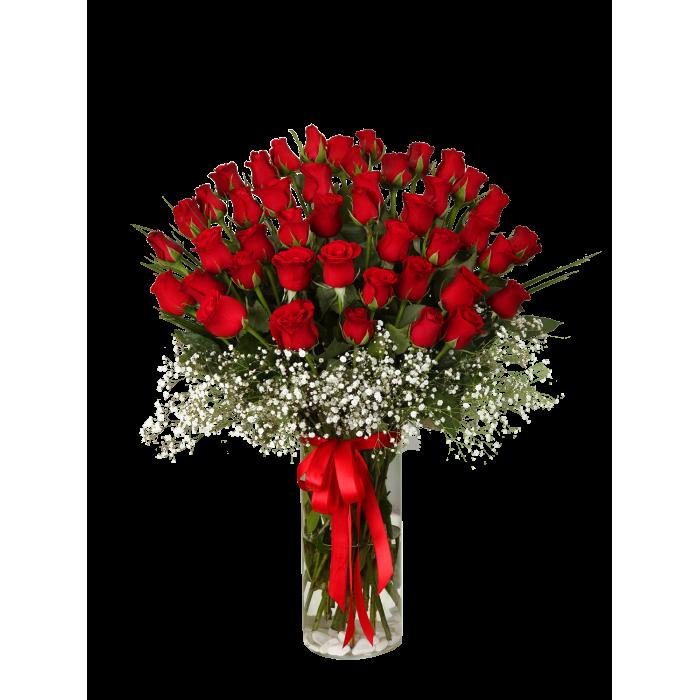 41 Kırmızı Gül İle Aşkların En Büyüğü